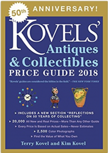 Antiques and Collectibles, Price Guide 2018