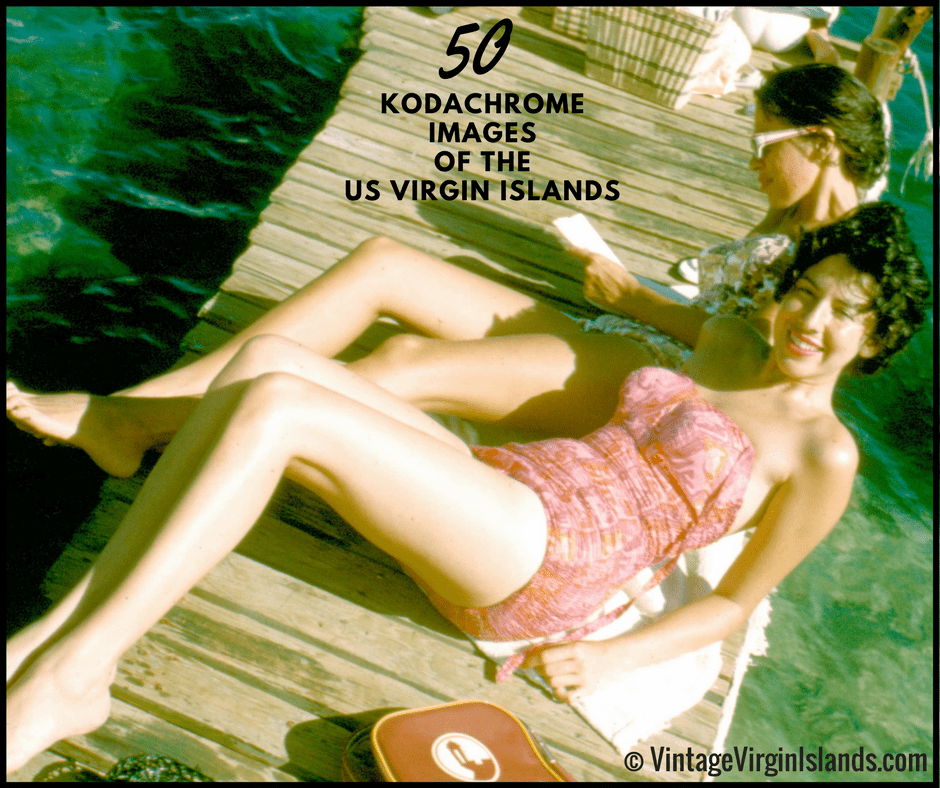 50 kodachrome images of US virgin islands