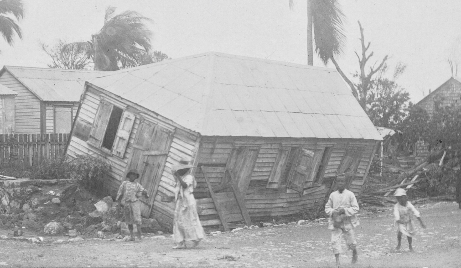 hurricane 1916, St. Thomas, Danish West Indies
