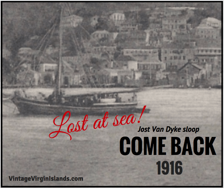 Lost at Sea! The COME BACK is never heard from again ~ 1916! By Valerie Sims