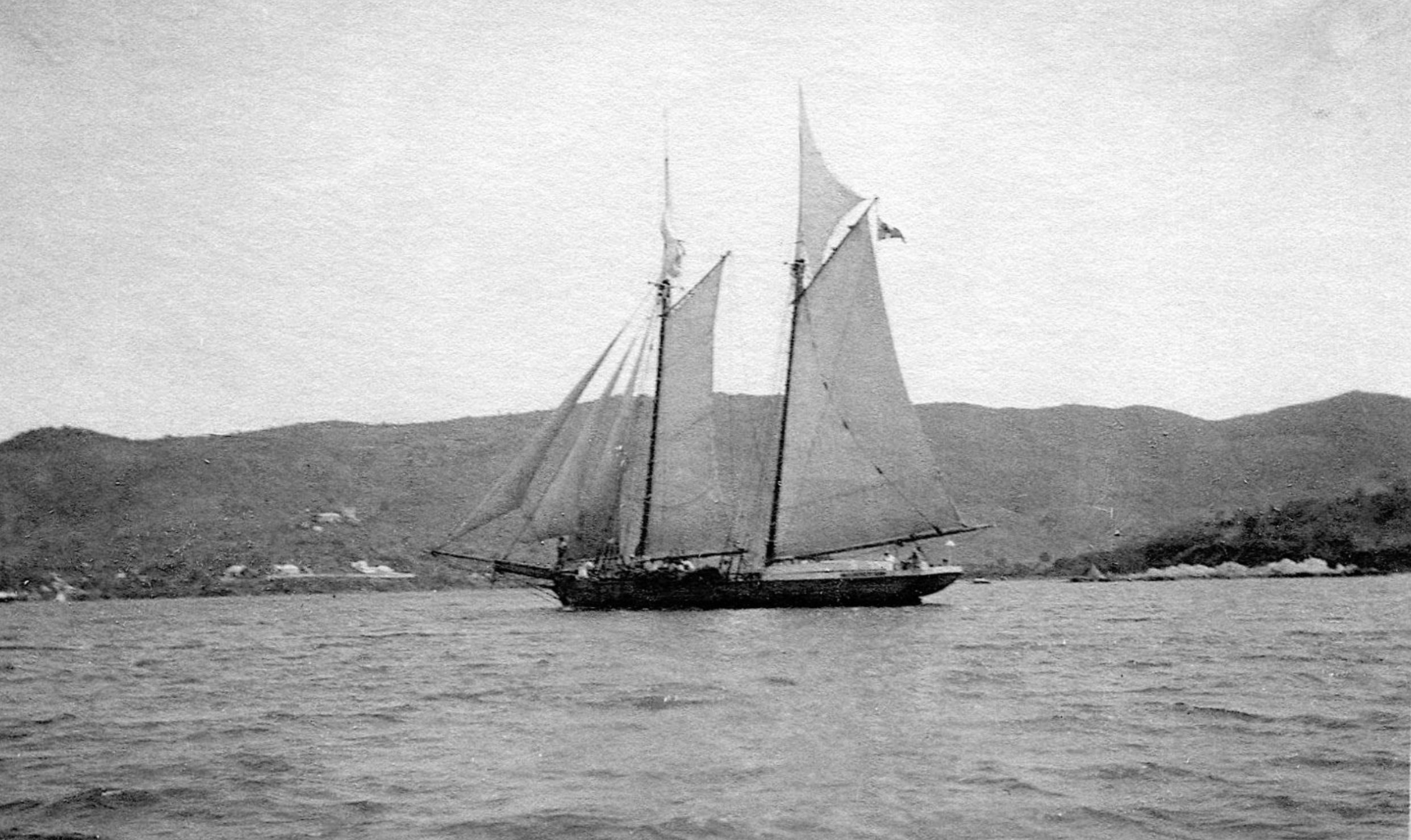 schooner, vigilant in St. Thomas, Danish West Indies