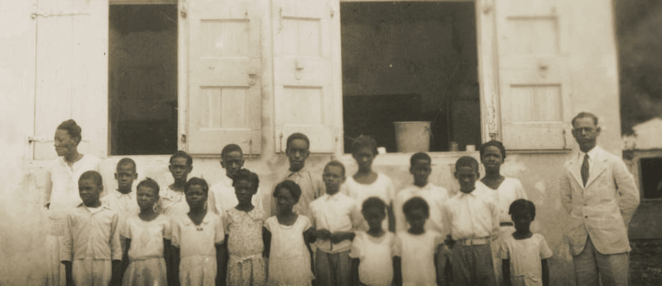St. John School Children in US Virgin Islands