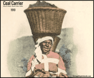 Coal Carriers of the Danish West Indies ~ 1910