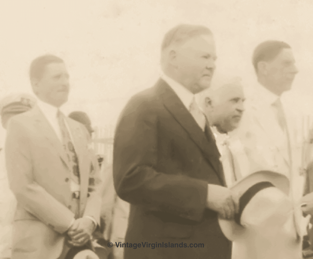Remarks President Herbert Hoover Made About His Visit ~ 1931