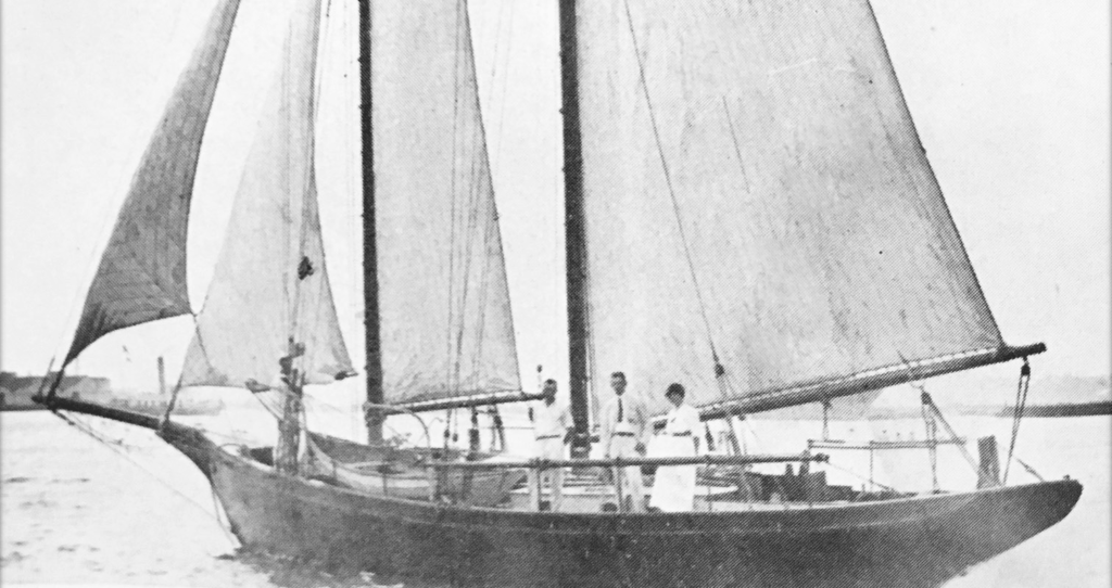 The Yacht, Diablesse Visits St. Thomas ~ 1914