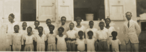 St. John students captured on film by William H. Eustis in the US Virgin Islands ~ 1930s