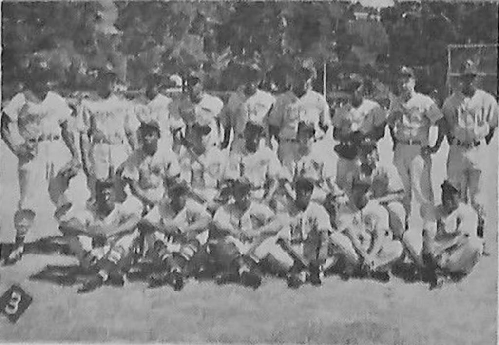 Rare Collectible Found of the Olympic Baseball Team ~ 1954