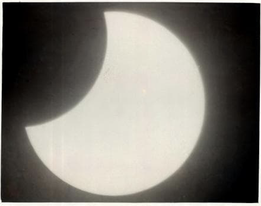 Local Star Gazers Turned out to See a Solar Eclipse ~ 1897