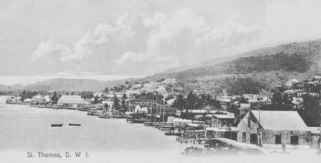 St. Thomas postcard, Danish West Indies