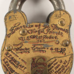 Unusual padlock up for auction from the US Virgin Islands ~ 1930
