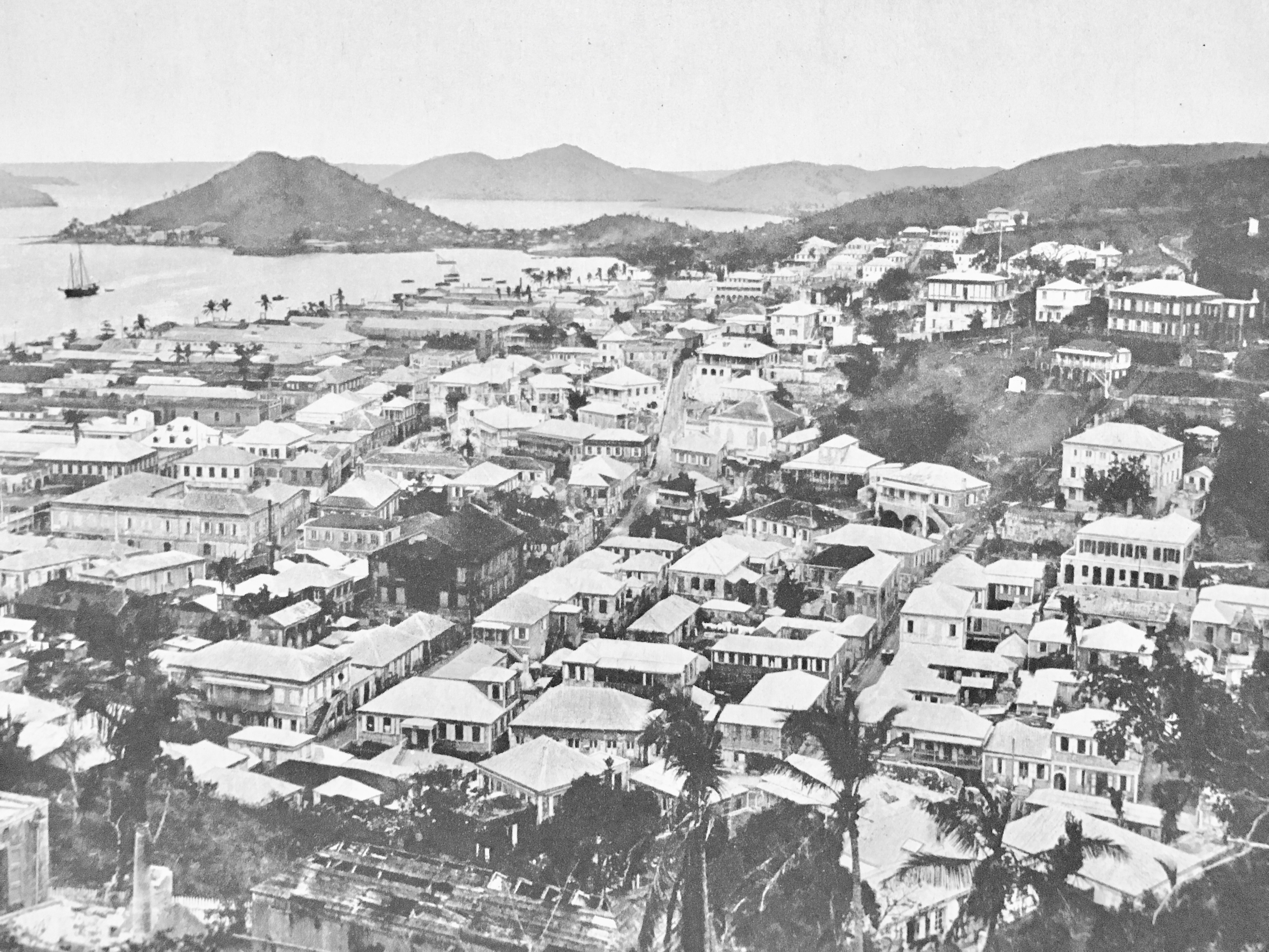 st thomas, Danish West Indies view