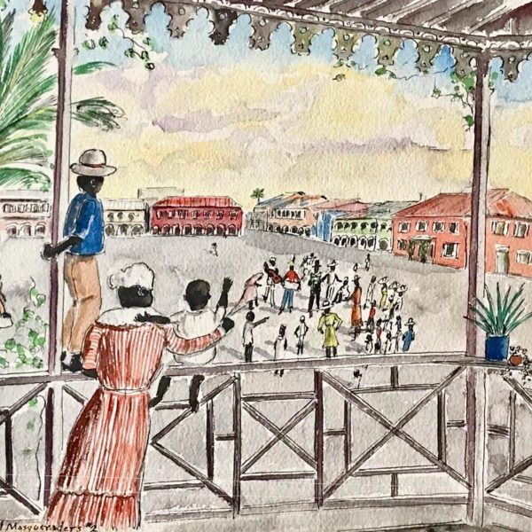Who is the True Artist Behind this St. Croix Carnival Painting?