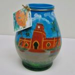 Fort Christian ceramic vase