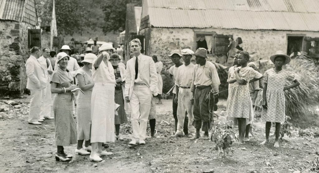 First Lady, Eleanor Roosevelt Visits the US Virgin Islands ~ 1934