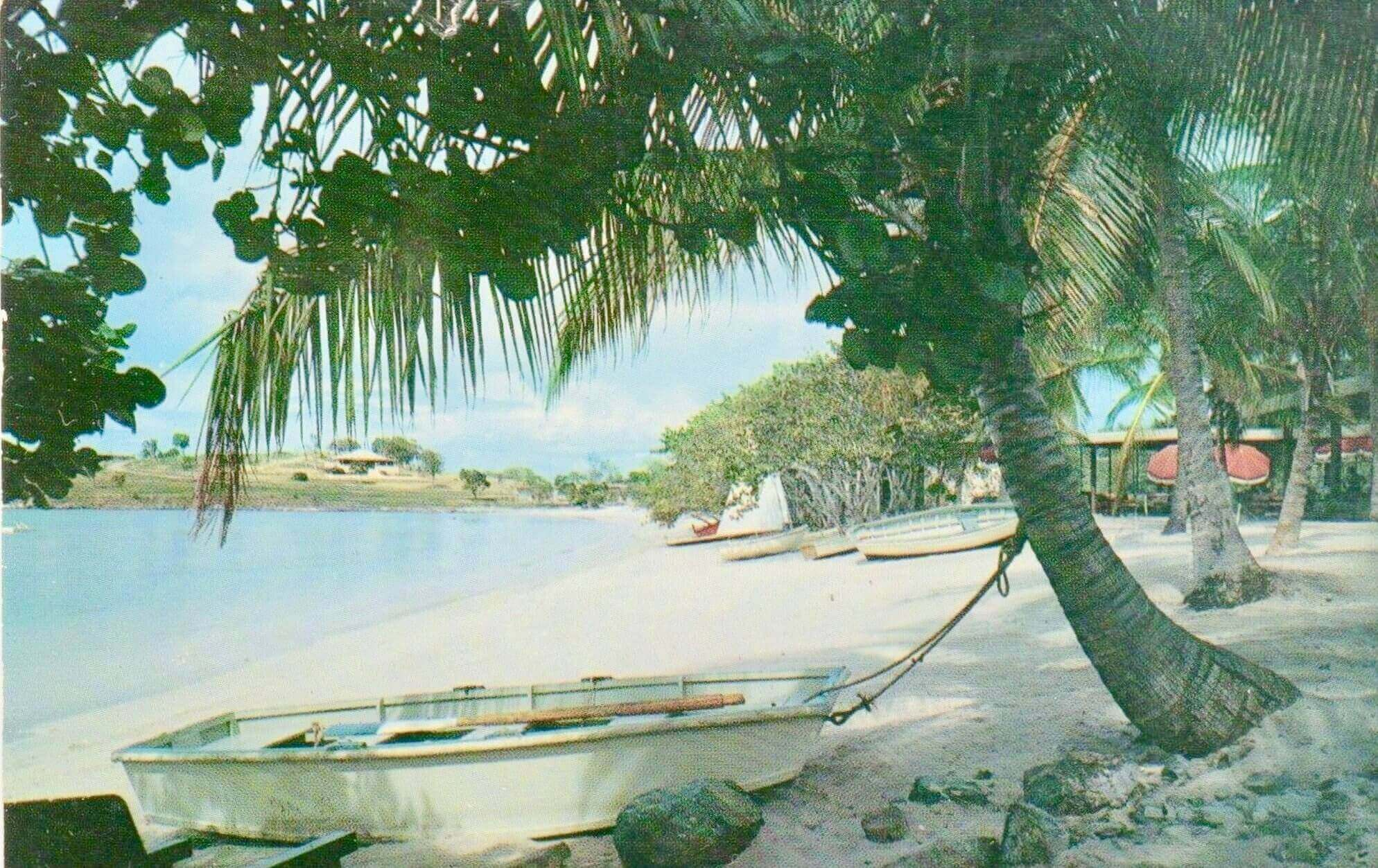 Caneel Bay postcard, St. John, US  Virgin Islands 1958