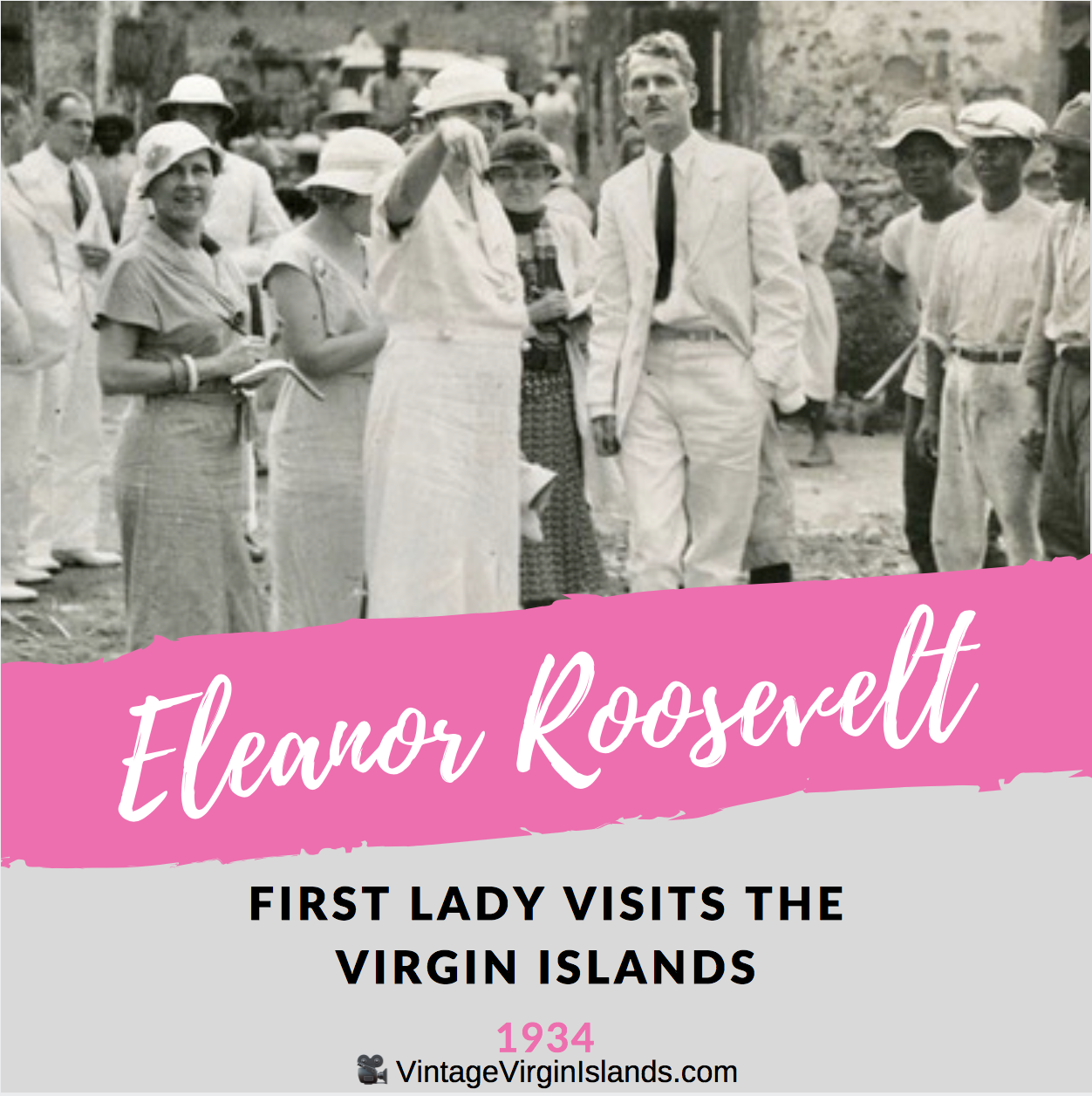 First Lady, Eleanor Roosevelt