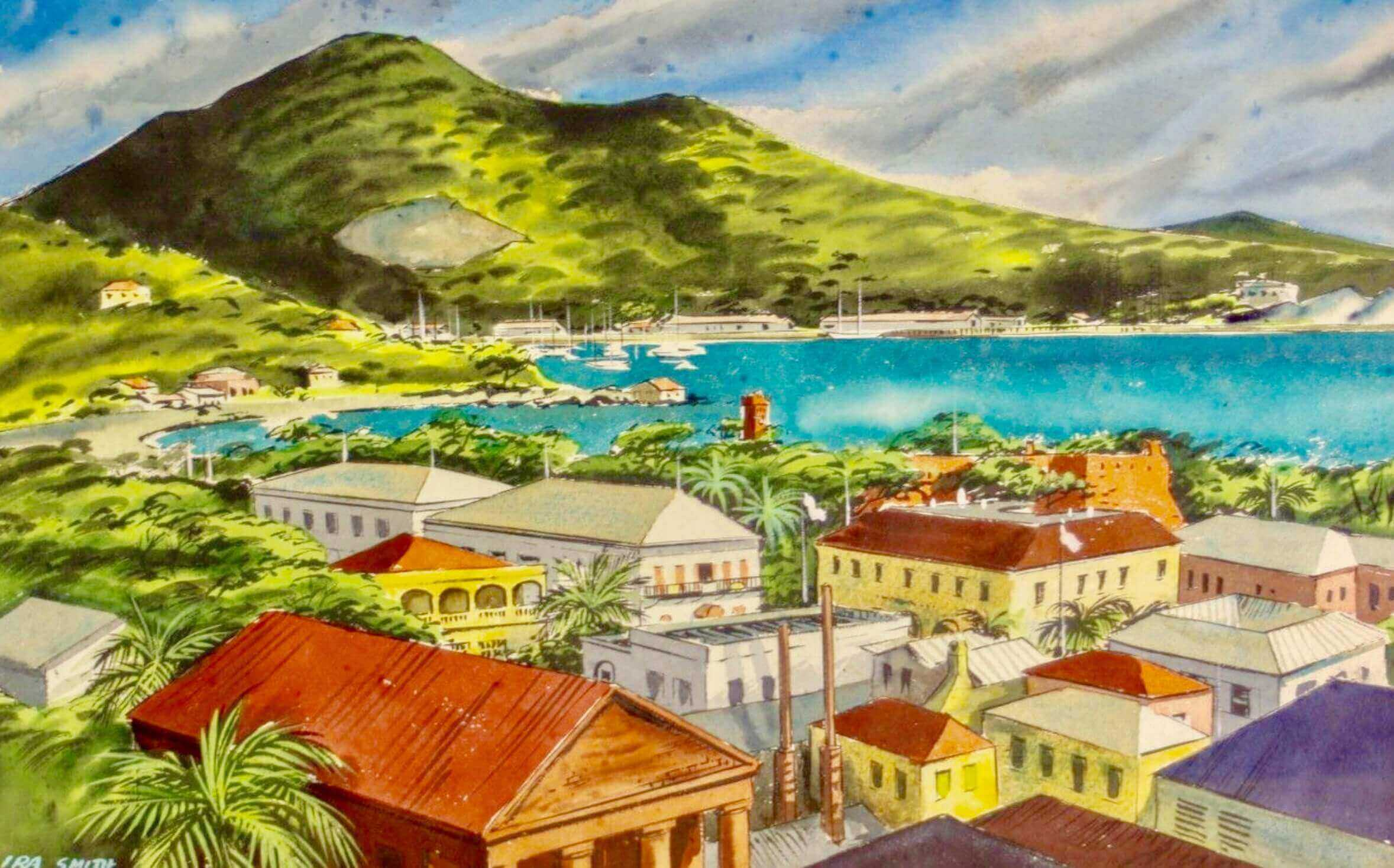 Ira Harrington Smith, St. Thomas, US Virgin Islands Paintings