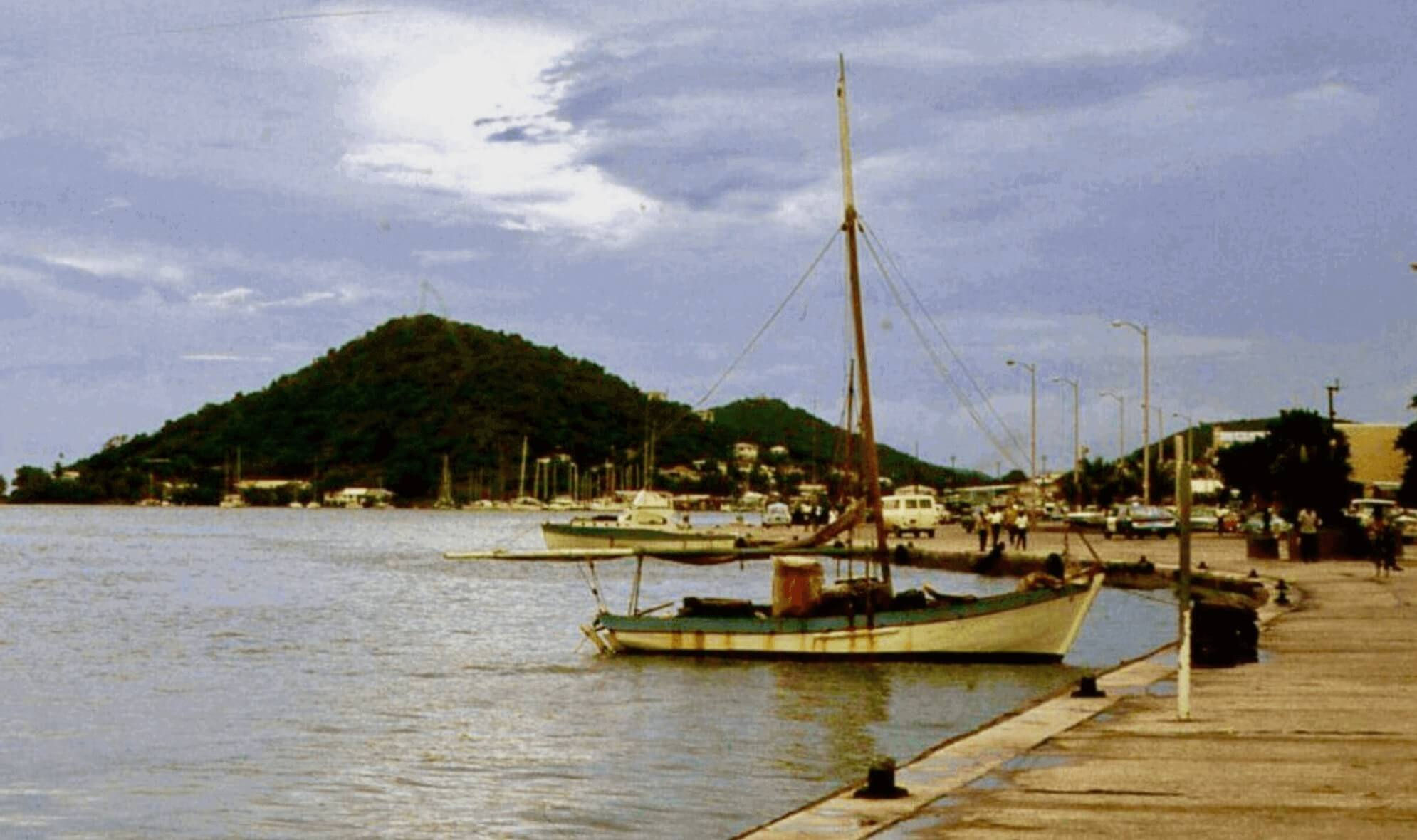 Tortola Sloop in the Virgin Islands