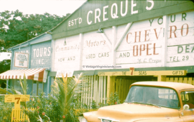 Creque's Chevrolet, Creque's Alley, St. Thomas, US Virgin Islands
