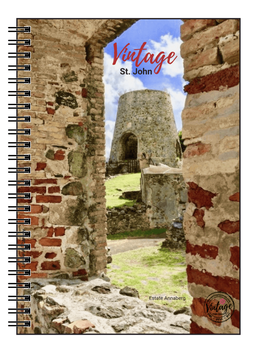 Estate Annaberg Notebook, St. John, US Virign Islands