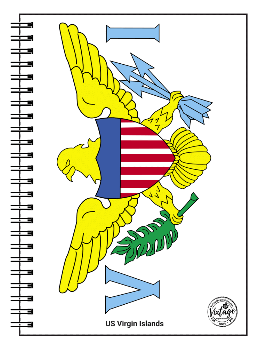 US Virgin Islands National Flag