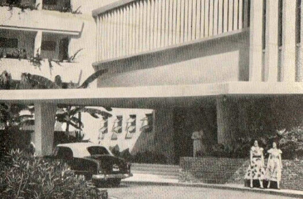 The New Virgin Isle Hotel ~ 1950