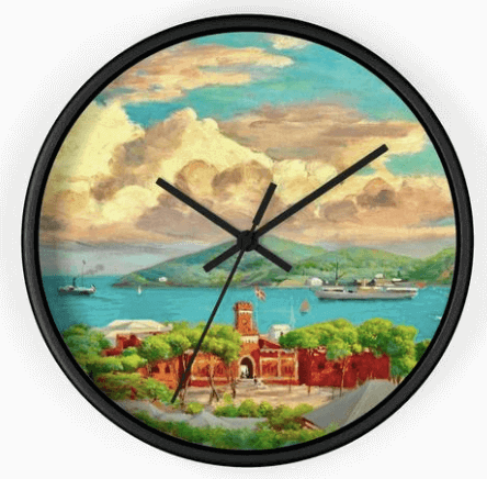 Virgin Islands Wall Clock