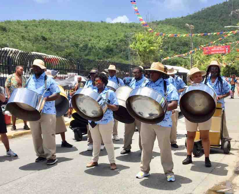 St. John July 4th Parade, US Virgin Islands in 2019