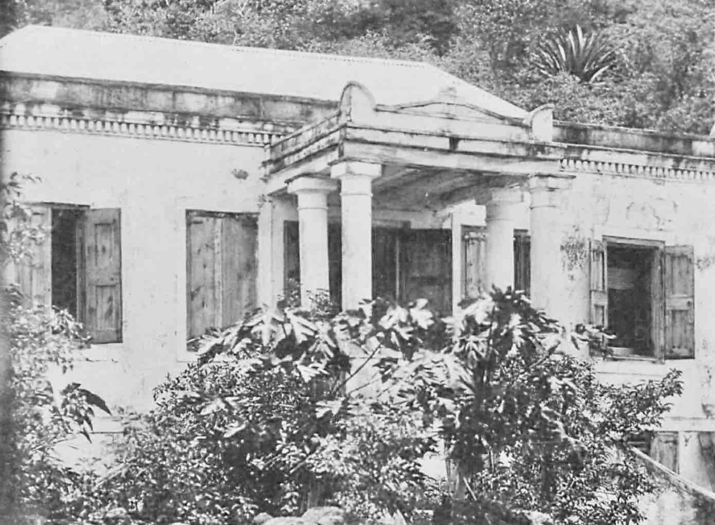 Reef Bay House, St. john, US Virgin Isands, DAnsk Vestindien, Danish West indies