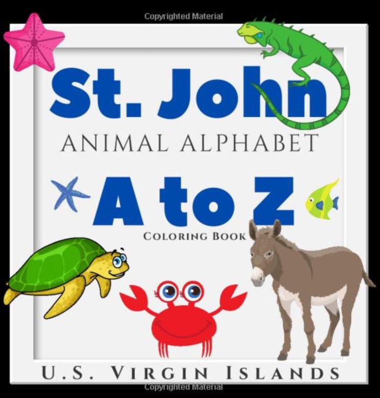 St. John A to Z Animal Alphabet, US Virgin Islands