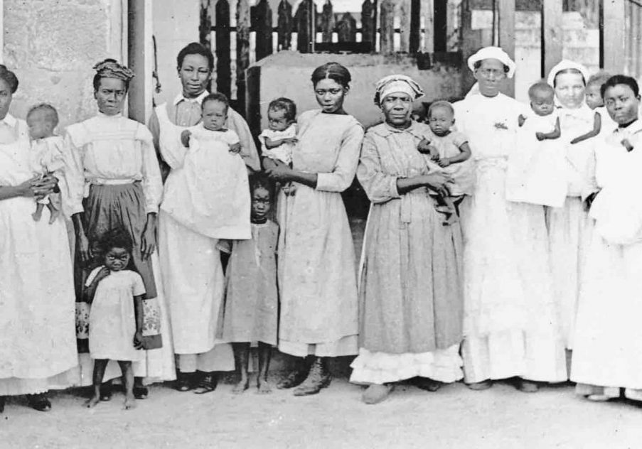 Midwives in St. Croix, Danish West Indies