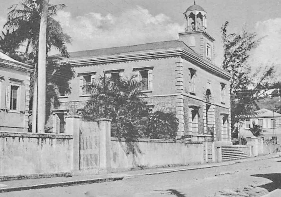 Moravian Memorial Church in St Thomas, US Virgin Islands