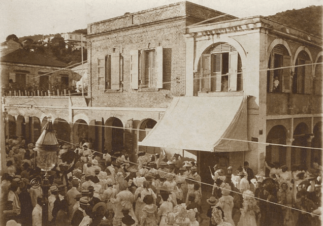 Celebrating Three King's Day in St. Thomas, Danish West Indies in 1910 By Valerie Sims