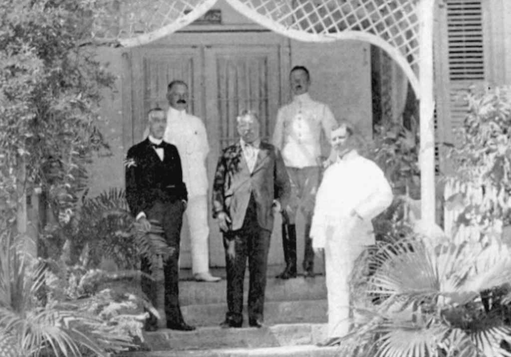 Former President Theodore Roosevelt visits St. Thomas and St. Croix in the Danish West Indies ~ 1916 By Valerie Sims