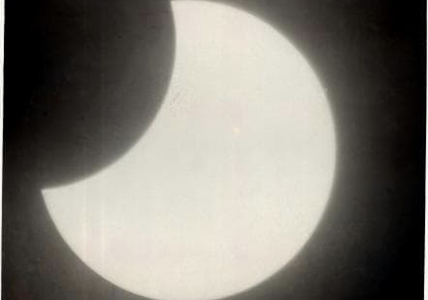 The Solar Eclipse in the Danish West Indies ~ 1897