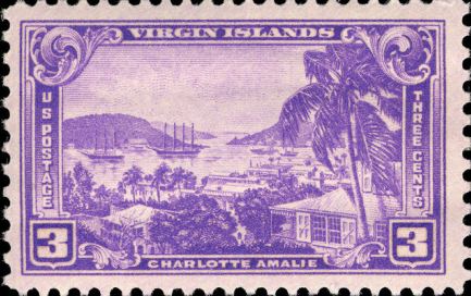Leon A Mawson purchases the last commemorative stamp of the US Virgin Islands ~ 1937 By Valerie Sims