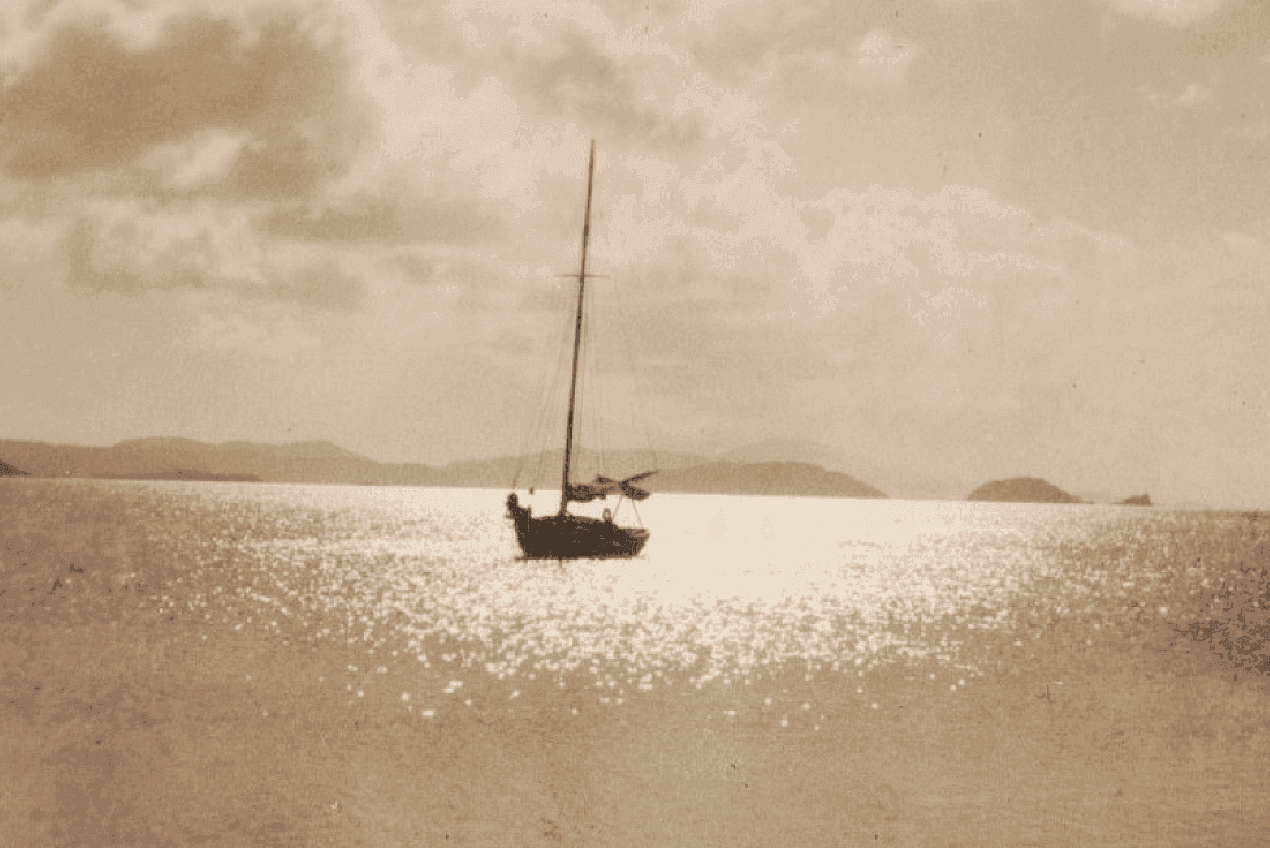 The Loss of the British sloop, SYRIA off St. Thomas, Danish West Indies ~ 1912 By Valerie Sims
