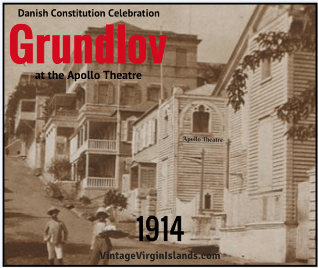 Celebrating the Grundov Constitution in St. Thomas, Danish West Indies ~ 1914 By Valerie Sims