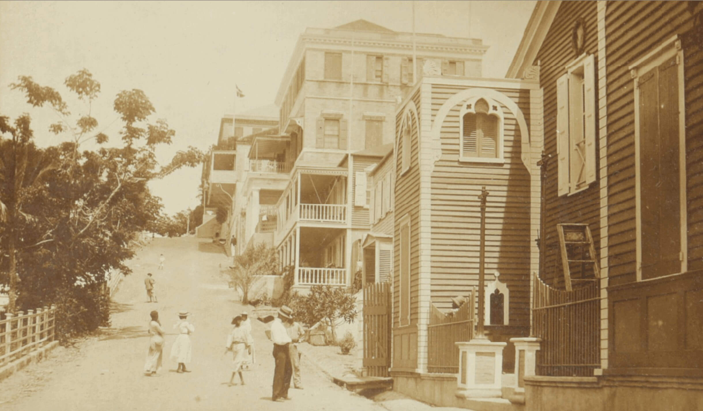 Apollo Theatre, St. Thomas, Danish West Indies, US Virgin Islands