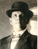 Herman O. Creque helps fight the Telegraph Office fire in St. Thomas, Danish West Indies ~ 1909 By Valerie Sims