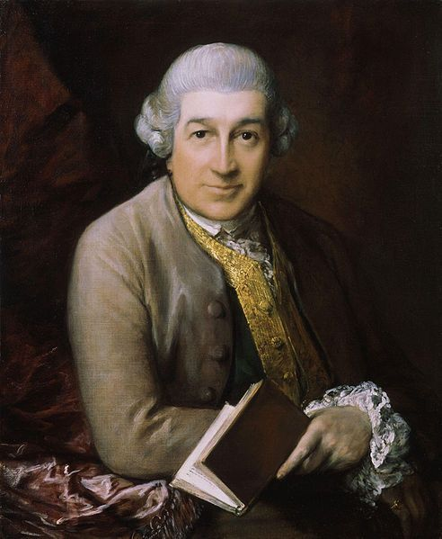 David Garrick, famous English actor