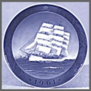 Danmark collectible plate