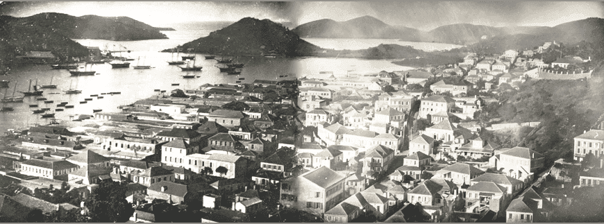 Panoramas of St. Thomas, Danish West Indies
