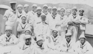 Danish Crew of the Valkyrien in St. Thomas, Danish West Indies