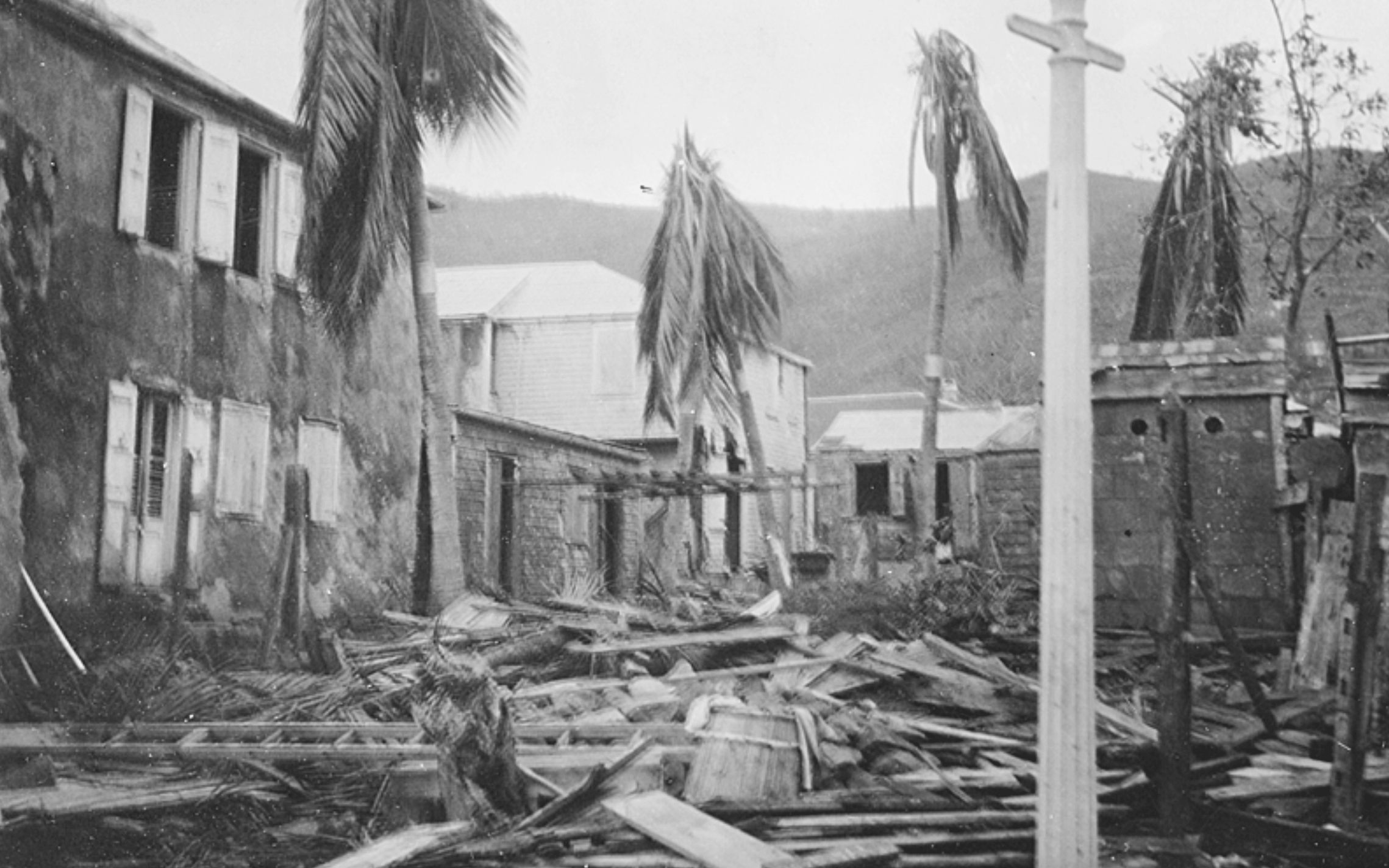 Hurricane of 1916 in St. Thomas, Danish West Indies