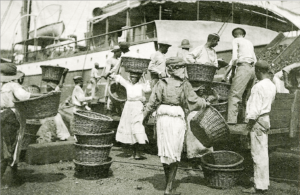 Coaling women at work on Hassel Island, Danish West Indies ~ 1907