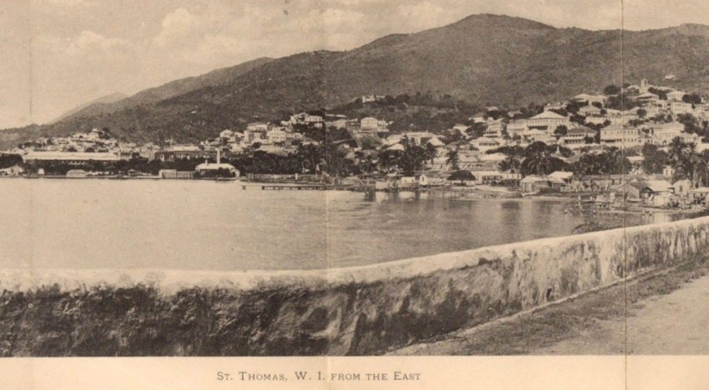 Rare, souvenir booklet found of St. Thomas, Danish West Indies ~ 1897