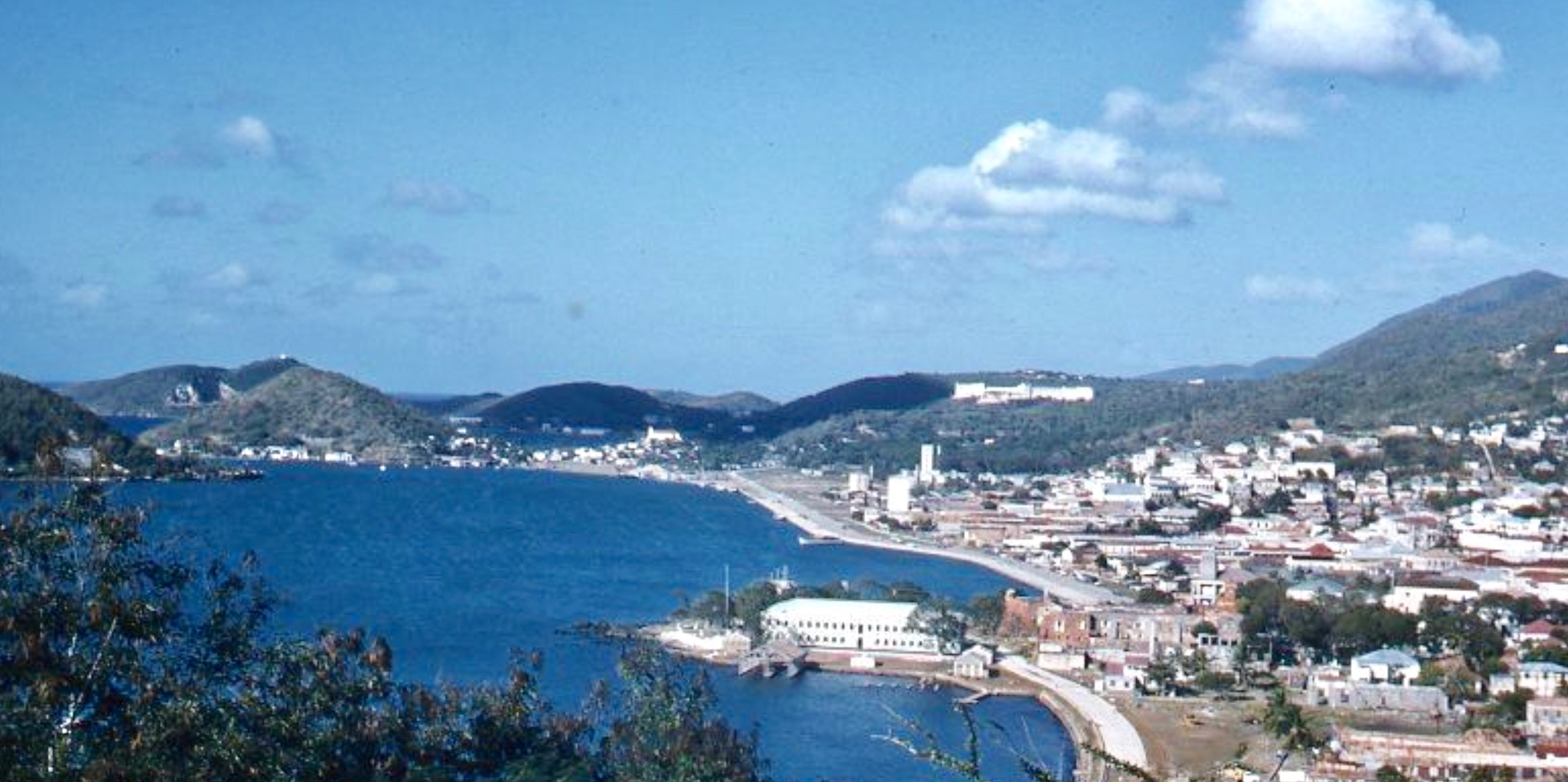 View of St. Thomas harbor