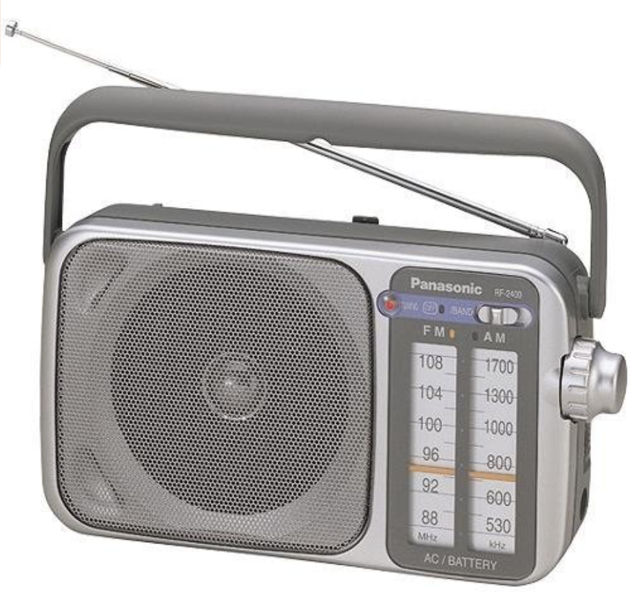 Hurricane Supplies ~ Battery Operated Radio