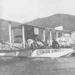 AeroMarine airplane in St. Thomas, US Virgin Islands